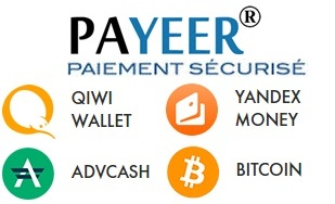 payeer, bitcoin, adv cash, qiwi wallet, yandex money